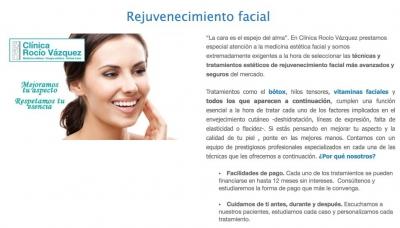 pagina web clínica