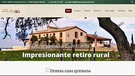 Página web casa rural en Ciudad Real