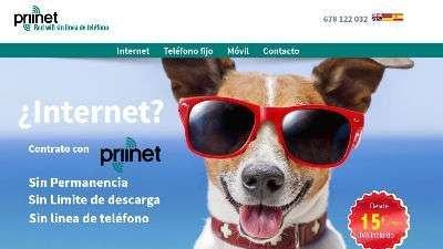 priinet Servicios de internet