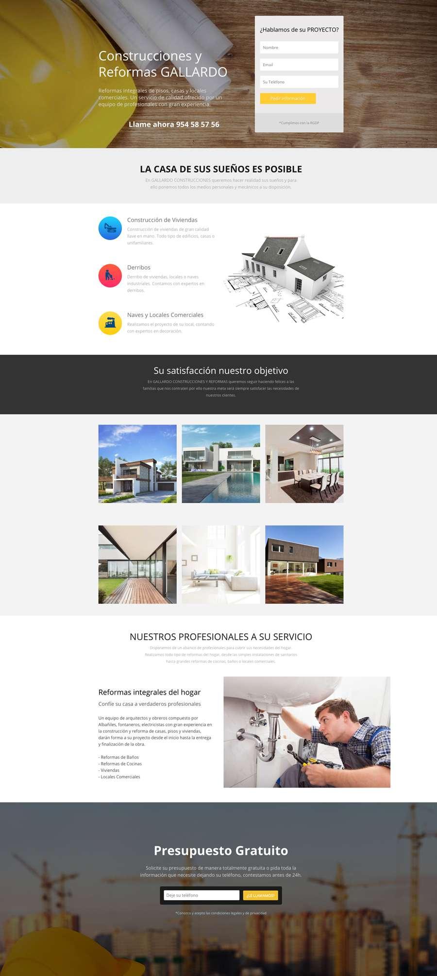 web construcciones creadores web 1 web barata