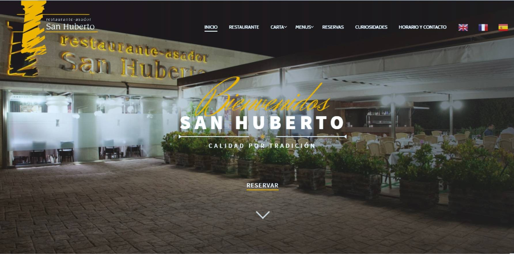 Paginas web restaurantes bares hosteleria ciudad real