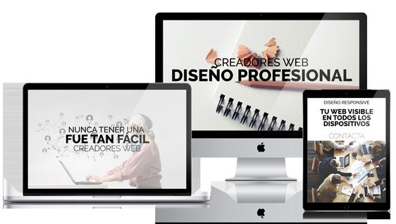 web profesionales para particulares y empresas