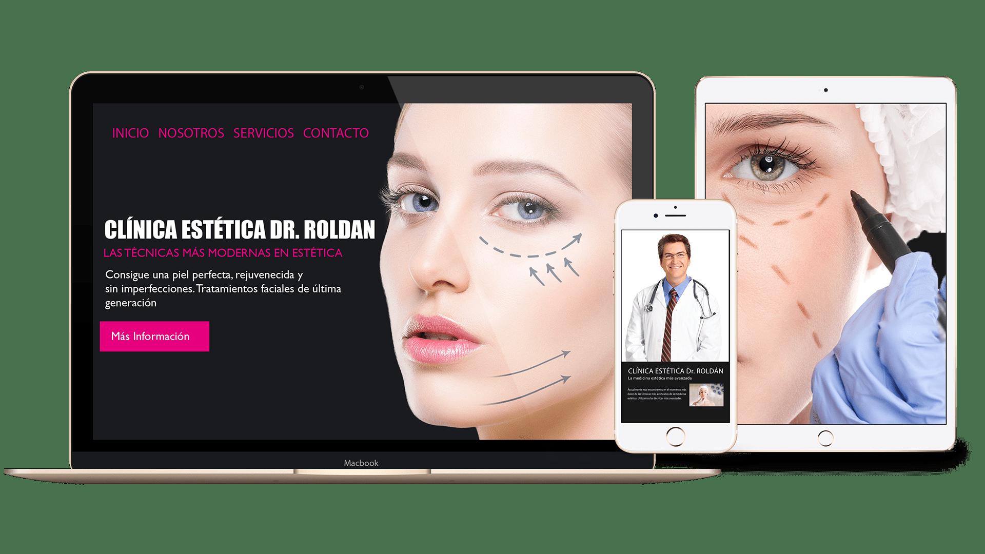 diseño web clínica